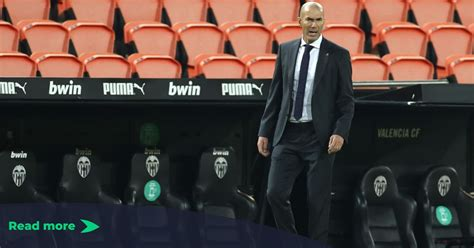 Zidane snaps one more time at a reporter to defend his players