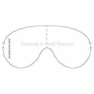 Soothing Eye Mask - Free Sewing Pattern • Craft Passion