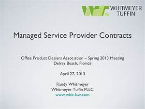 managed service provider contracts With managed service provider contract template