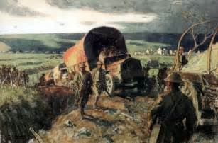 Military World War 1 Paintings