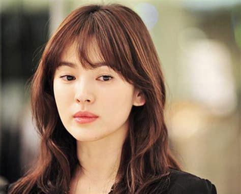 Song Hye Kyo Hairstyle by Song Hye Kyo Hairstyle Brown Color Korea Tlcthai