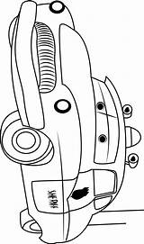 Sheriff Cars Coloring Printable Categories Cartoon sketch template