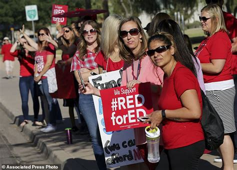 Q&a Why Colorado, Arizona Teachers Are Walking Off The  Daily Mail Online