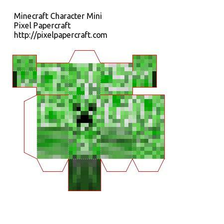 papercraft minecraft xbox  skin pack  minis