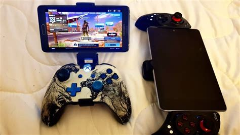 play fortnite mobile  xbox  controller