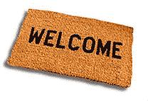 Welcome Mat by In Style Mise En Place