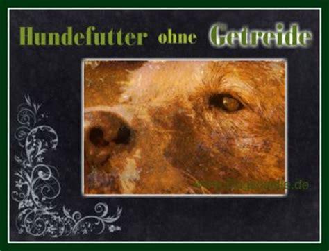 hundefutter ohne getreide dogscastle