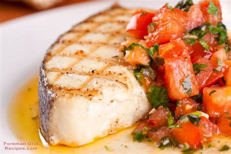 halibut recipe grilled halibut with blistered tomatoes and arugula foreman grill recipe