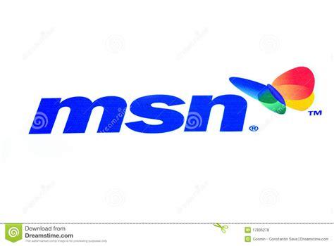 Msn Logo Editorial Stock Photo