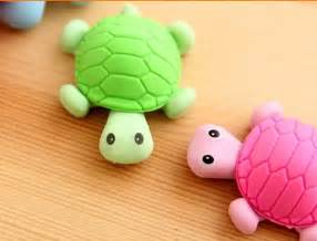 Rubber Animal Erasers