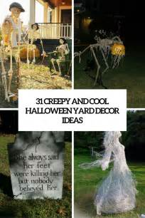 outdoor decorations ideas to make 31 creepy and cool yard d 233 cor ideas digsdigs
