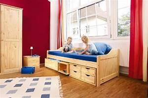 Kinderbett 200 X 90 : kinderbett maxima 90 x 200 kiefer massiv mit vielen schubladen ~ Yasmunasinghe.com Haus und Dekorationen