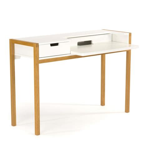 bureau blanc but bureau scandinave farringdon par drawer fr