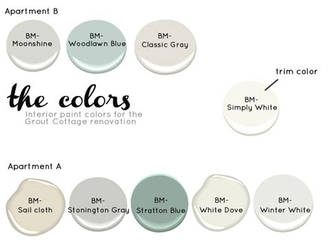 grout cottage interior paint colors the estate of things