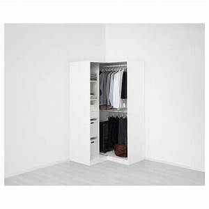 Ikea Pax Eckelement Alt : pax corner wardrobe white grimo white 111 111 x 201 cm ikea ~ Orissabook.com Haus und Dekorationen