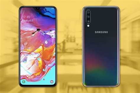 samsung galaxy a70 with 6 7 inch 20 9 amoled display now official technobaboy