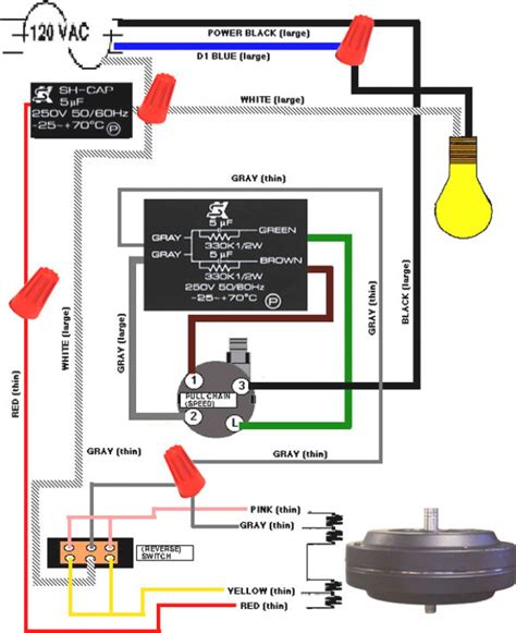 ceiling fan switch wiring diagram wiring diagram for hunter ceiling fan switch circuit and