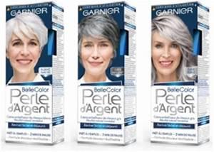 Coloration Cheveux Gris Perle : belle color cr me d jaunisseur perle d 39 argent garnier ~ Nature-et-papiers.com Idées de Décoration