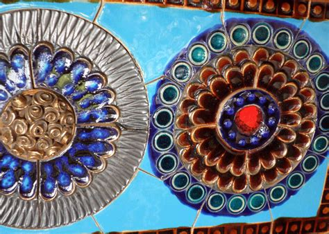 wall tiles jean powell blue ceramic wall panel