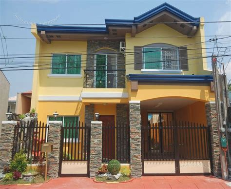 apartment exterior design philippines shape weekly  storey house design small house