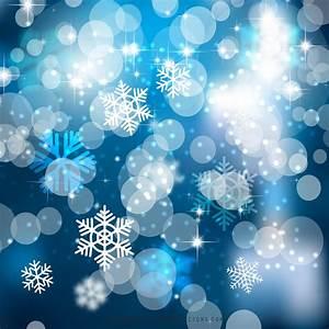 Dark, Blue, Christmas, Bokeh, Lights, Background, Graphics