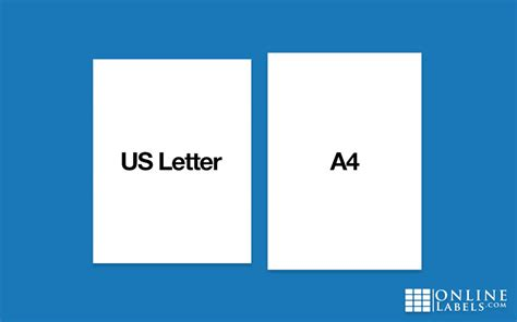 whats  difference   letter   paper sheets