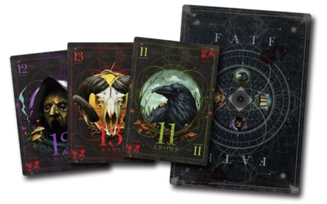 Custom Malifaux Fate Deck by Wyrd S Bringing The New Malifaux Ripples Of Fate Book To