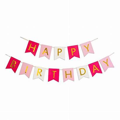 Birthday Happy Signs Banner Flag Banners Party