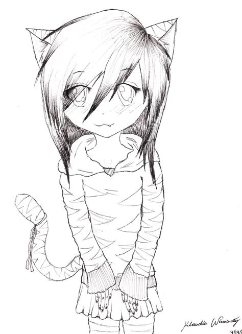 Best Anime Cat Girl Drawing Ideas And Images On Bing Find What