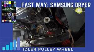Fastest Easiest Way To Replace Broken Samsung Dryer Idler