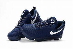 Nike KD 9 Dark Blue/White Basketball Shoes | Nike Air ...