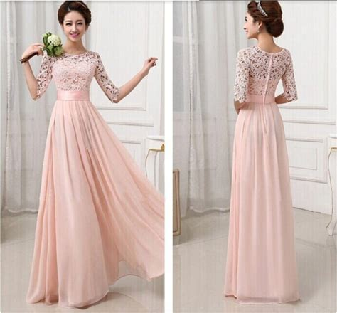 gamis pesta gamis renda big size 2015 vestidos festa coral lace maxi dress wedding
