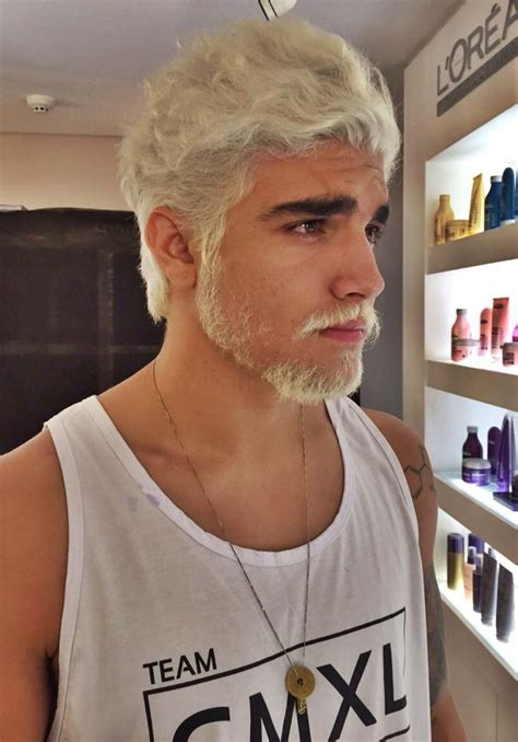 75 Best White Hair Men Images By Lexandro Peña On