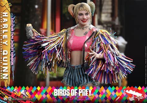 birds  prey harley quinn caution tape jacket version