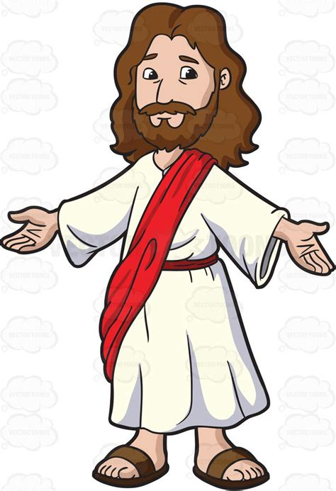 Jesus Clipart Jesus Opening His Arms To Welcome Everyone