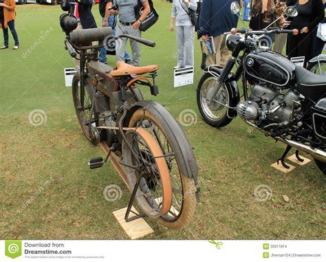 Pre-world War 1 Harley Belt System Editorial Stock Image