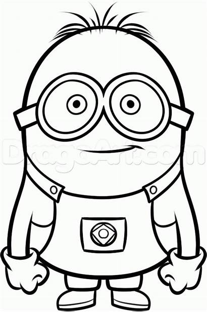 Coloring Pages Pop Culture Drawing Despicable Minions