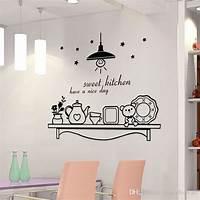 nice art decor wall ideas Sweet Kitchen Have A Nice Day Wall Sticker Decoration Wall Art Murals Sticker Decor Sticker ...