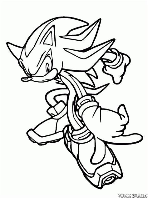 Kleurplaat Metal Sonic by Coloring Page Knuckles