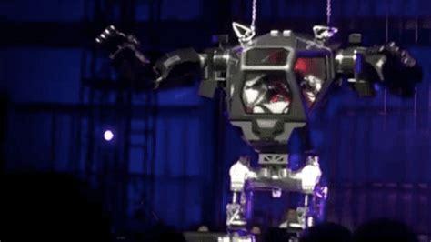 robot jeff bezos giant little mechanical happy too piloting looks method