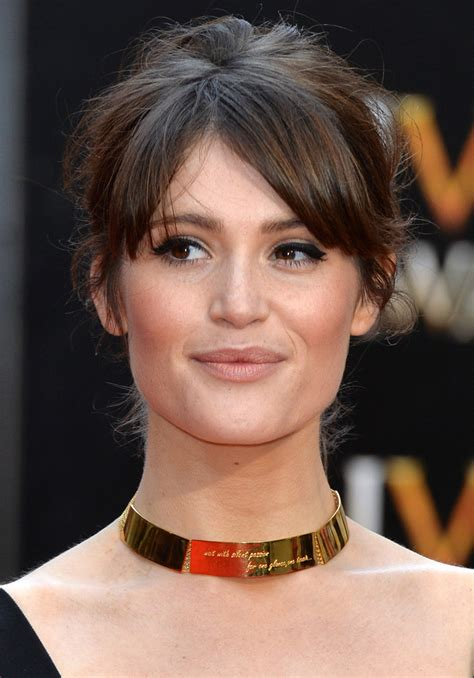 gemma arterton    olivier awards red