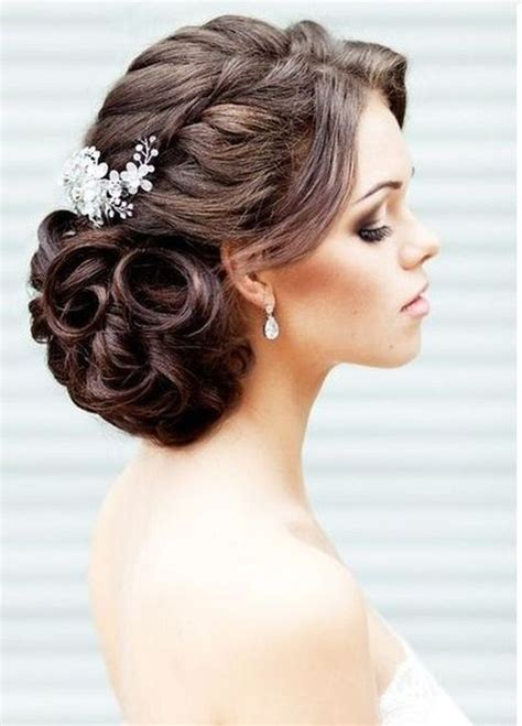 Curly Updo Hairstyles by Wedding Curly Hairstyles 20 Best Ideas For Stylish Brides