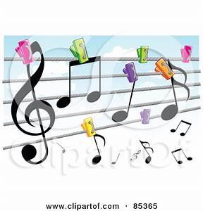 Music Line Clip Art (40+)