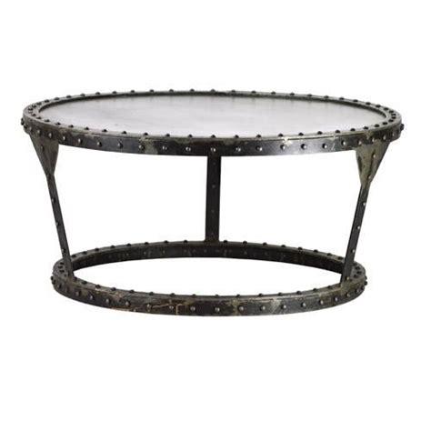 industrial metal coffee table industrial metal round coffee table