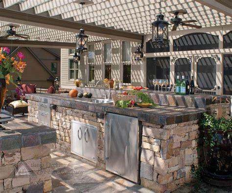 stunning stone kitchen design ideas
