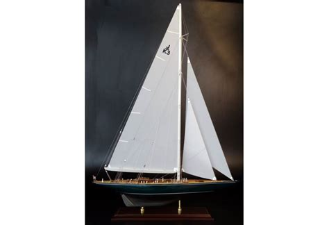 shamrock    boat replica model