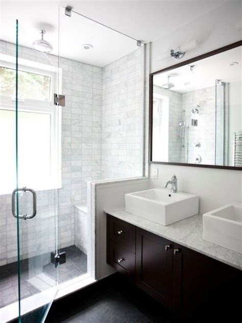 simple ways    small bathroom  bigger