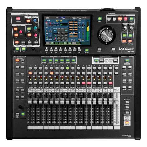 mixer console roland m300 32 channel live digital mixing console at