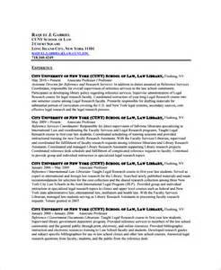 Librarian Resume by Sle Librarian Resume 9 Free Documents In