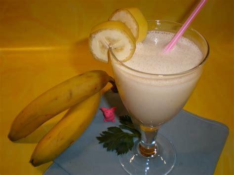 bananen milchshake rezept mit bild kochbarde